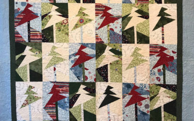 Glory Bees Quilt Display